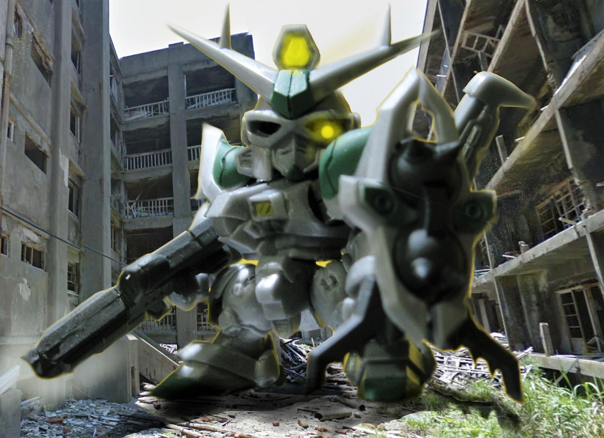 SDガンダム ガシャポン戦士DASHプレミア02 アマクサ クロスボーン