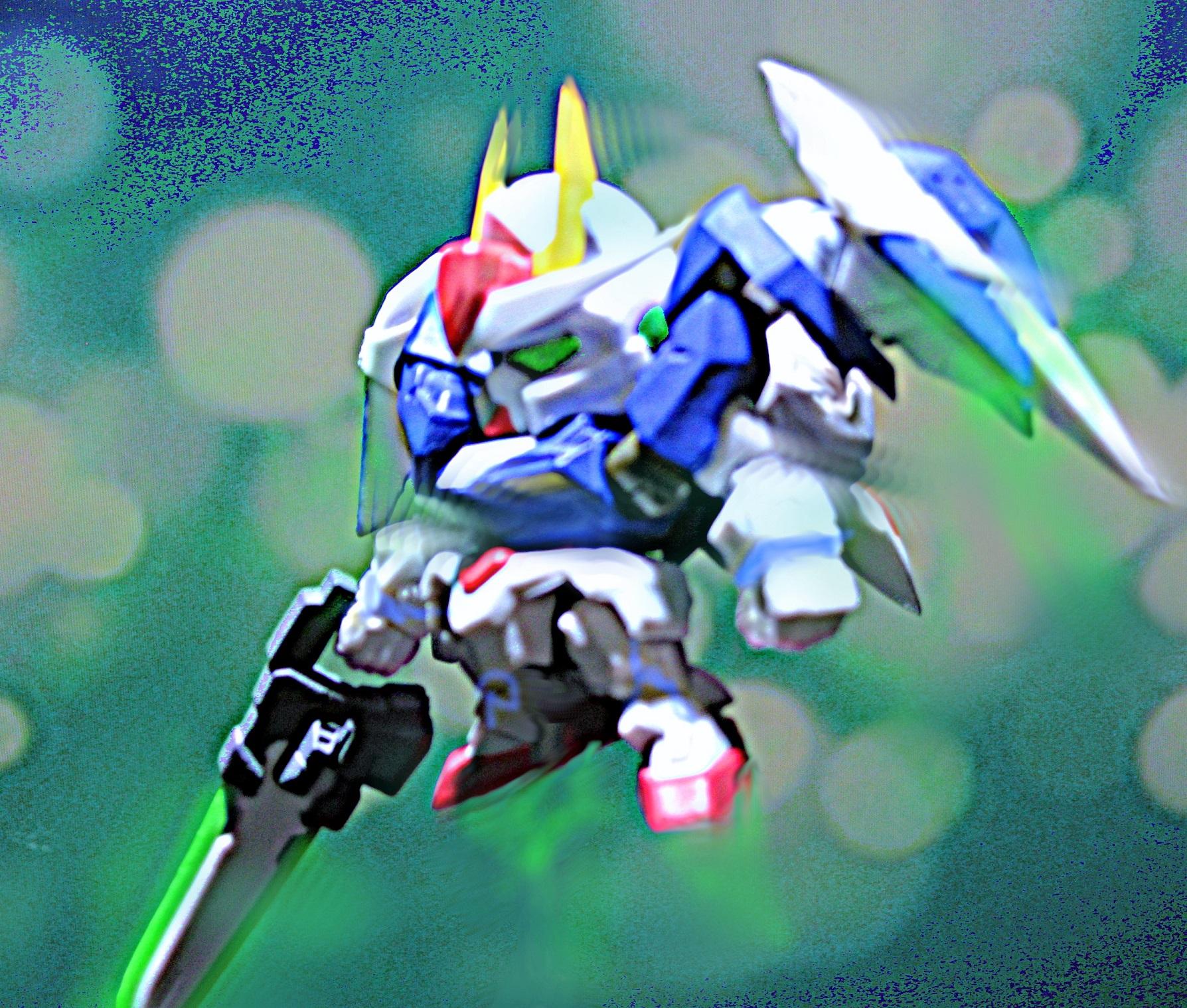 ガシャポン戦士NEXT DASH07 ダブルオー ライザー