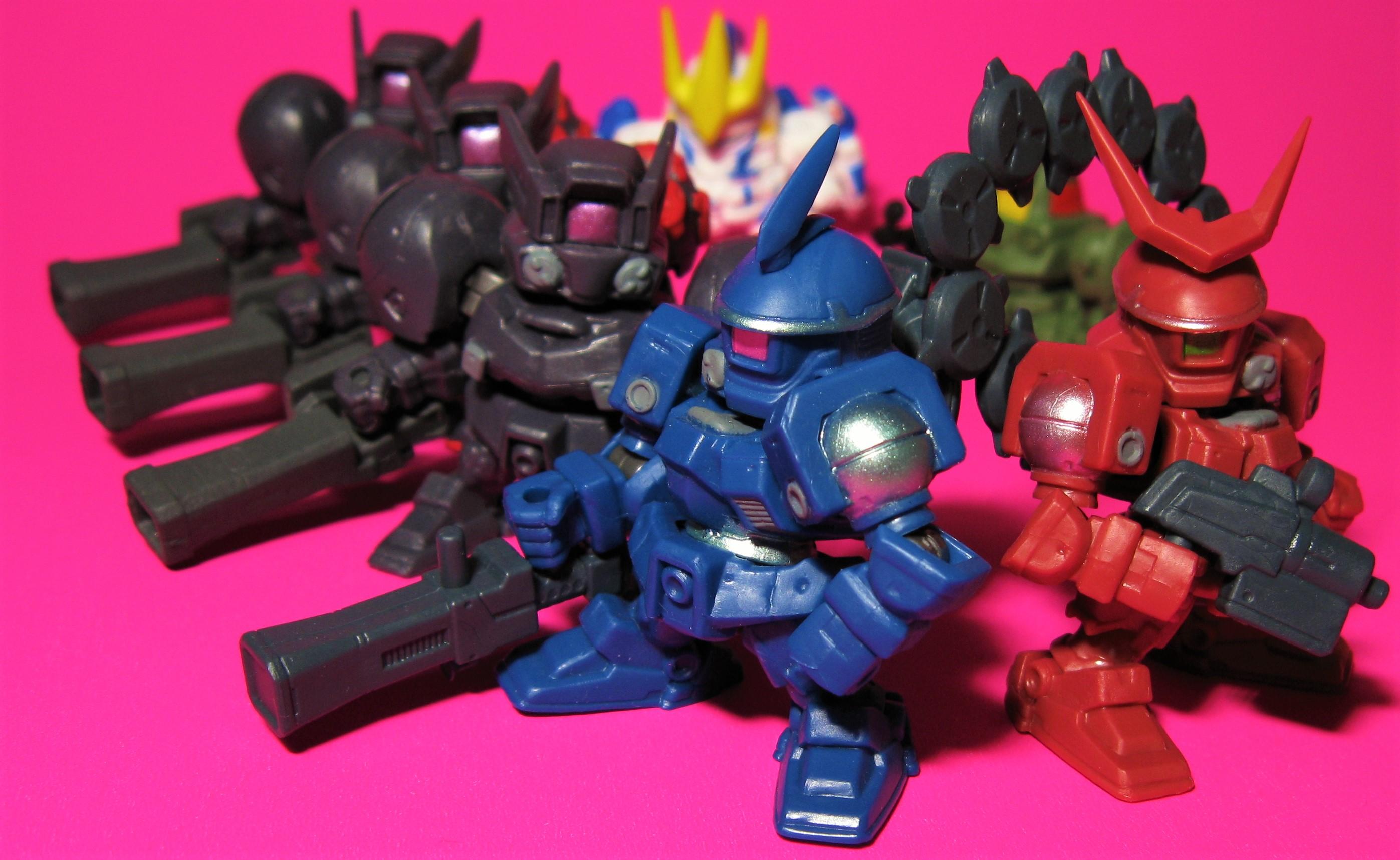 ガシャポン戦士DASH 07 コレクション Wガンダム ウィングガンダム メクリウス トールギス