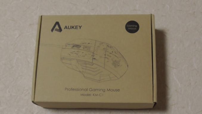 ゲーミングマウスのレビュー Aukey KM-C119-41-28-335