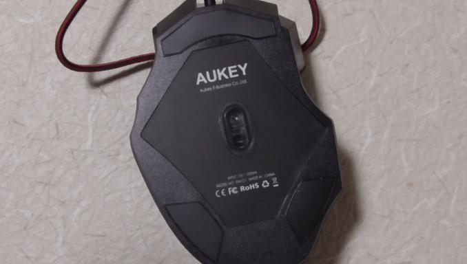 ゲーミングマウスのレビュー Aukey KM-C14-12 19-41-39-492