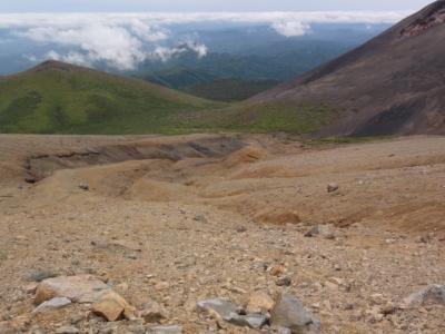 白湯山~阿寒富士 087
