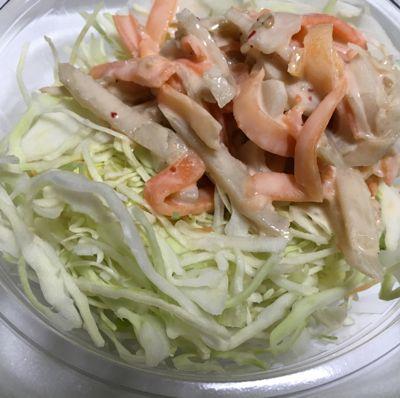 吉野家のサラダ