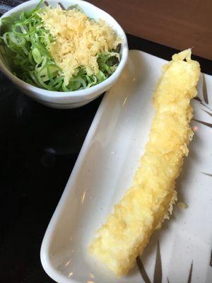丸亀製麺 値段調整の天ぷら