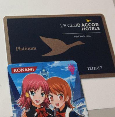 アコーホテルズ プラチナ会員カード