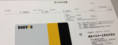 7995 日本バルカー工業 期末配当金
