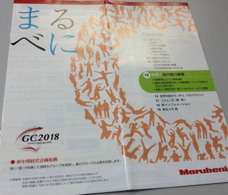 丸紅 株主レポート2016年夏号