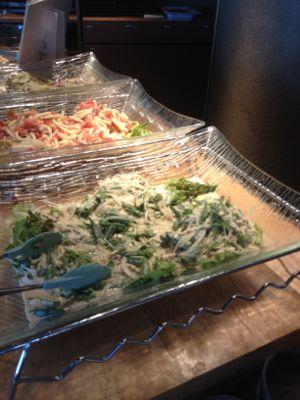 菜食健美のランチバイキング おかずの例(2)