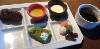 菜食健美のランチバイキング デザート