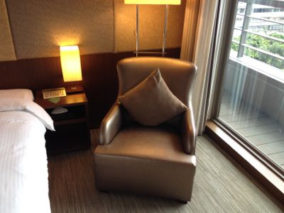 パークタイペイホテル(台北美侖大飯店) ソファー