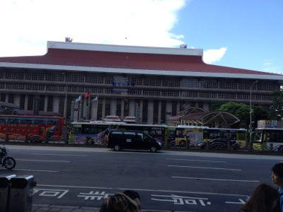 台湾国鉄の台北駅駅舎です