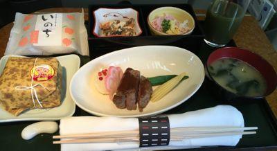 9201 日本航空 機内食
