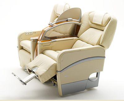 日本航空 国内線ファーストクラスの座席