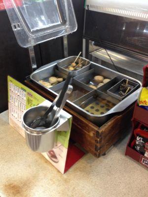 台湾セブンイレブン 関東煮(おでん)