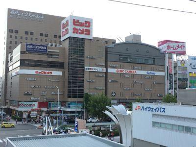 名古屋駅 駅前にビックカメラ