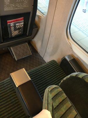 東海道新幹線 グリーン車の座席
