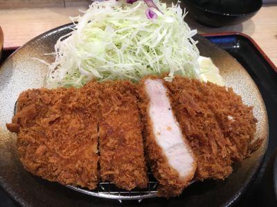 ロースかつ定食(上) メイン