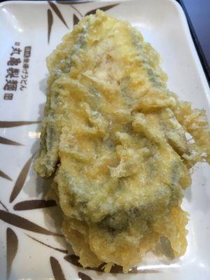 丸亀製麺 茄子の天ぷら