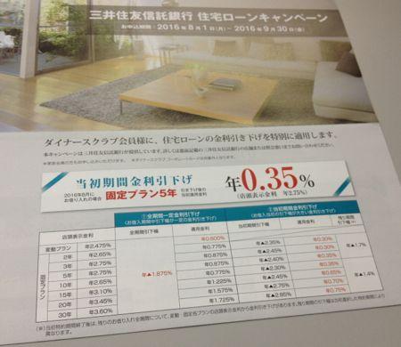 三井住友信託銀行 住宅ローンキャンペーン
