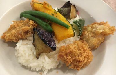日替わりサンシャインランチ 洋食カツカレー(1)