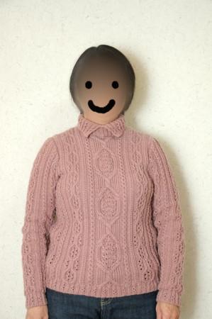 セーターを着たママ2
