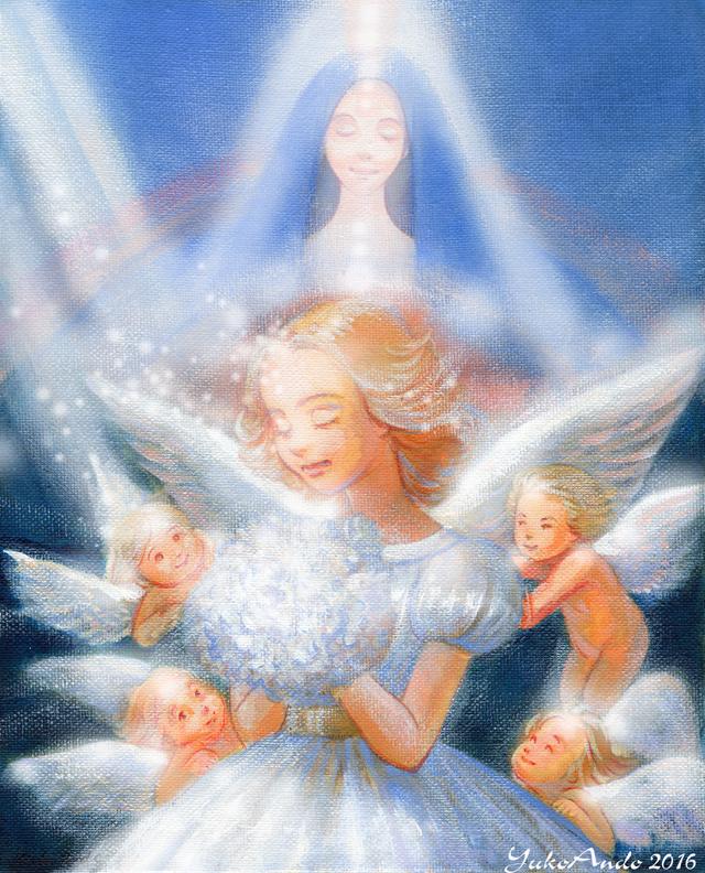 マリアと天使小