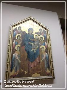 作品荘厳の聖母子と6人の天使