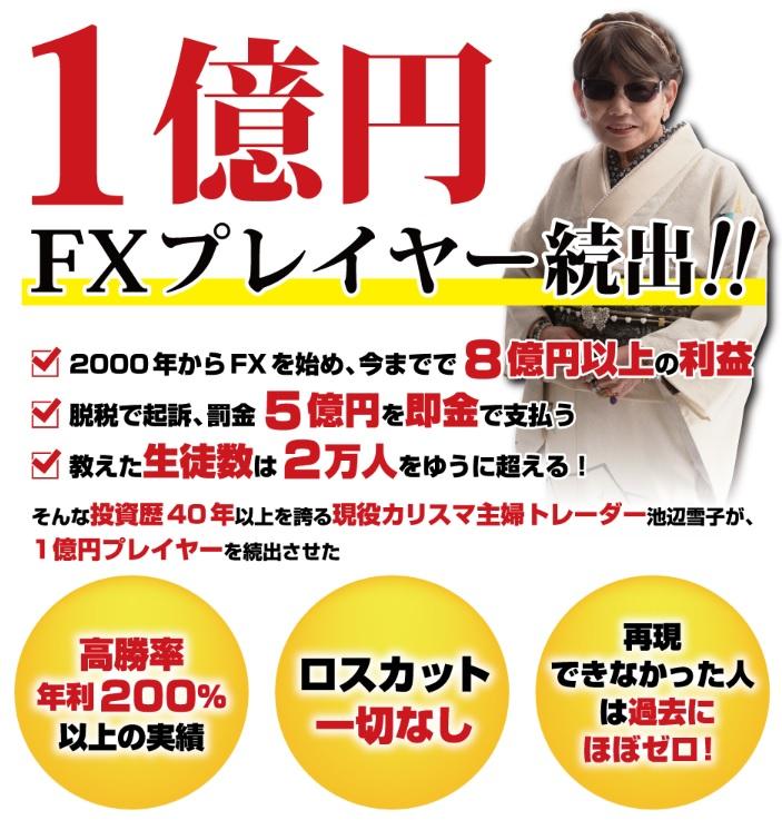 1億円FXプレイヤー