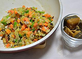 チョッパー野菜カレー2