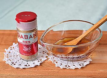 エビアスパラの花椒塩ーモニター