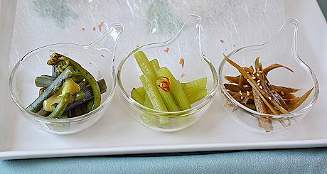 山菜トリオ