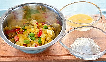 夏野菜のおやつ準備2
