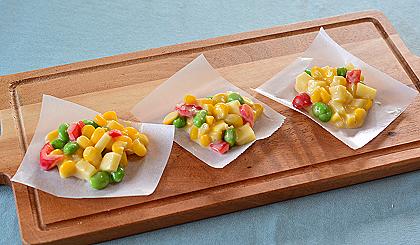 夏野菜のおやつ準備3
