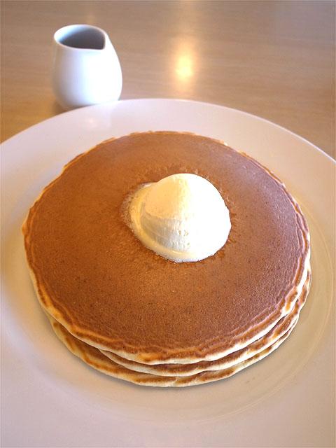 150907スカイガーデンカフェ-パンケーキ