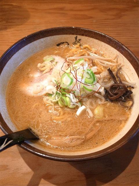 150921麺屋つくし-味噌ラーメン