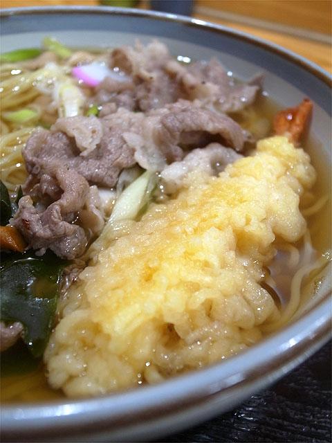 150922お好み焼き ナニワ-天ぷらラーメン・海老天