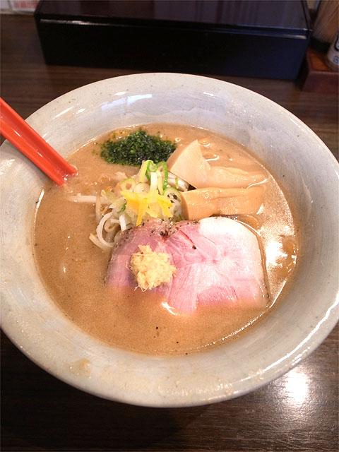 150923味噌専門 麺屋 大河-味噌ラーメン