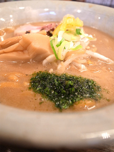 150923味噌専門 麺屋 大河-味噌ラーメン・青海苔