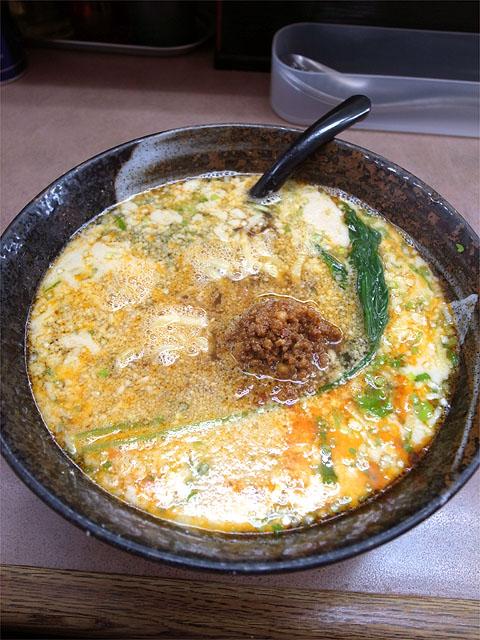 150923ラーメンとんとん 森本店-金沢担々麺 5度