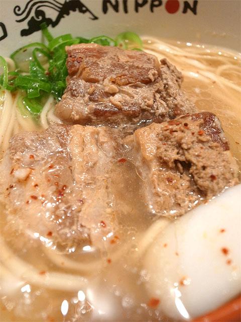 151021ソラノイロNIPPON-沖縄式角煮塩ラーメン・角煮