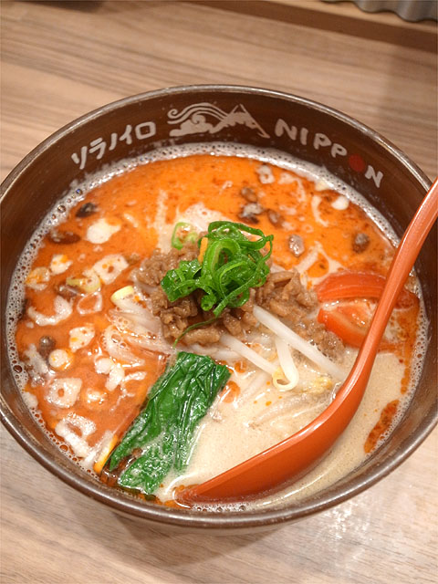 151021ソラノイロNIPPON-ビーガン担々麺
