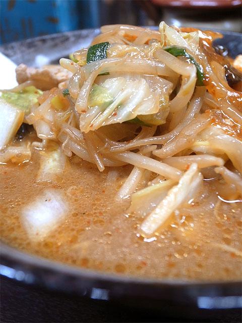 151102旨辛タンメン 荒木屋-味噌麻婆麺・野菜