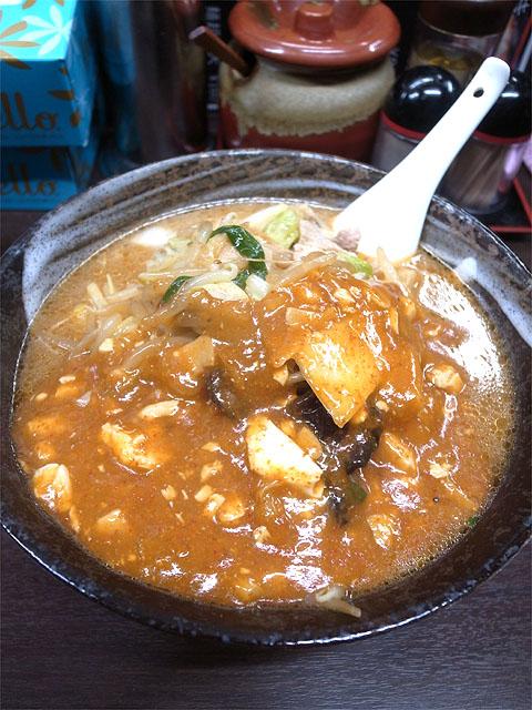151102旨辛タンメン 荒木屋-味噌麻婆麺