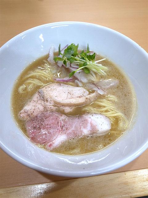 160604丸山商店-鶏白湯ラーメン