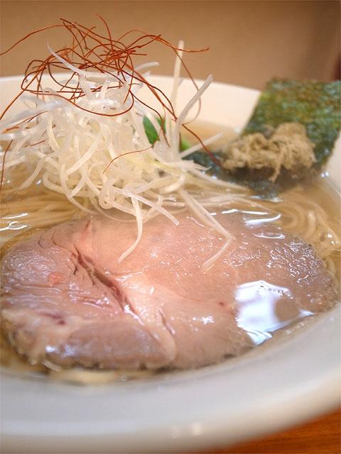 151101麺処 有彩-魚介鶏だし塩らぁめん・チャーシュー
