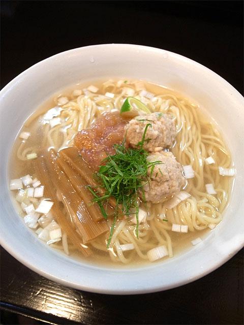 160716らーめん奏-麺を味わう為の薬味 出汁