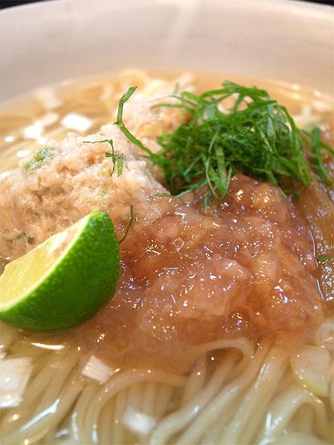 160716らーめん奏-麺を味わう為の薬味 出汁・ジュレ