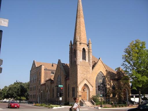 アメリカ09,8月 スプリングフィールド教会