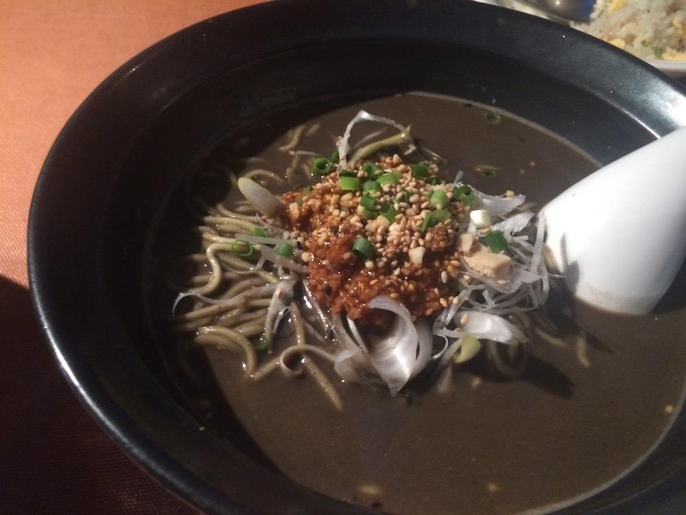 福天黒ゴマ坦々麺
