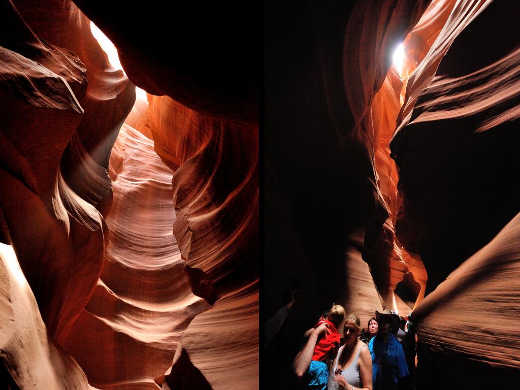 アンテロープキャニオン(アッパー) Upper Antelope Canyon
